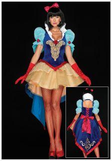 sexy snow white deluxe costume zoom