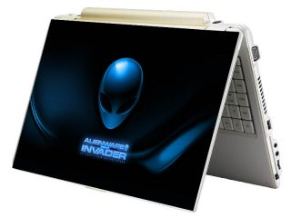 Bundle Monster Mini Netbook Laptop Notebook Skin Decal Alien Invader
