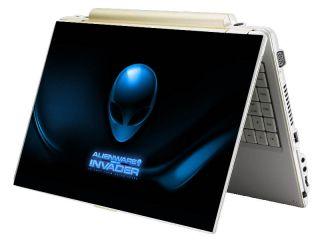 Bundle Monster Mini Netbook Laptop Notebook Skin Decal Alien Invader