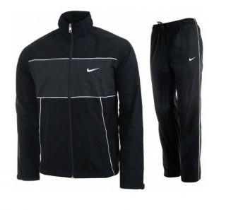 Block Tracksuit Warm Up Size L Black Gray Jacket Pants Training