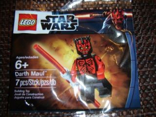 lego star wars minifig darth maul exclusive promo set 999 minifigure