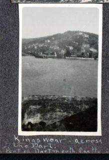 Photos US Navy Sailors Kingwear Dartmouth Devon England Harbor