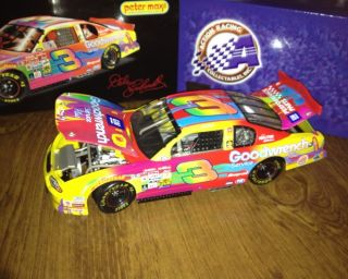 Dale Earnhardt #3 Peter Max 2000 Monte Carlo Diecast NASCAR RARE 118