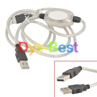 USB to USB Direct Net Link File Transfer Data Cable for PC