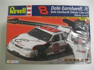 revell DALE EARNHARDT JR TRIBUTE MONTE CARLO FS NASCAR Model Car