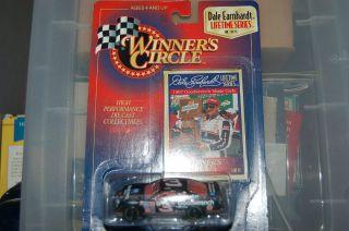 Dale Earnhardt Winners Circle Lifetime Series, Die Cast NASCAR model