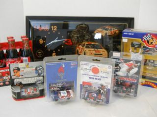 Lot of Dale Earnhardt NASCAR Memorabilia and Collectors Items SKN