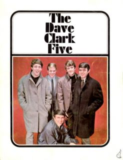 Dave Clark Five 1964 Tour Concert Program Book