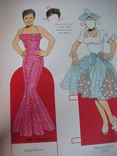 New Pin Up Girls from World War II Paper Doll Book