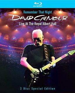 Gilmour, David Remember That Night Live At The Royal Albert Hall Blu