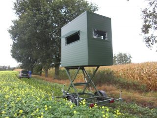 Tower Hunting Blind Mobile Hydraulic Lift Deer Stand