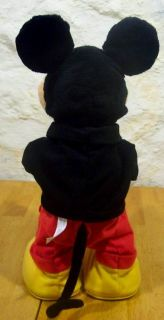 DANCE STAR DANCING TALKING MICKEY MOUSE 17 Plush STUFFED ANIMAL Toy