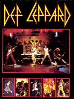 Def Leppard 1983 Rock Till You Drop Tour Poster Program