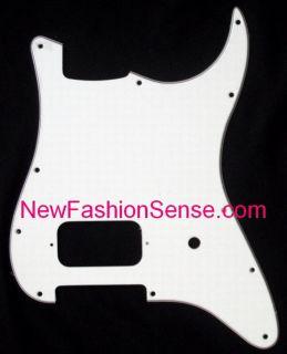 Brand New White Black White Tom Delonge Fender Style 3 Ply Pickguard