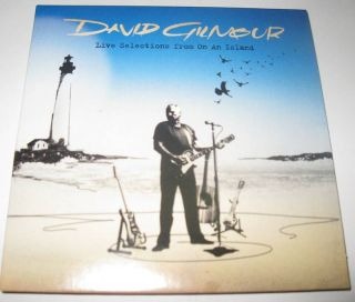 Live Selection from on An Island Promo CD David Gilmour