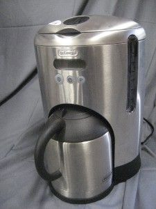 DeLonghi Stainless Steel 10 cup Coffee Maker with Thermal Carafe