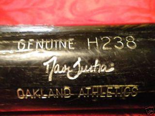 David Justice Game Used Bat Braves Yankees World Series