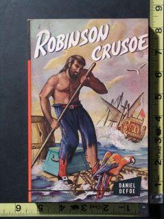Inc Giant Junior Classics Robinson Crusoe Book by Daniel Defoe