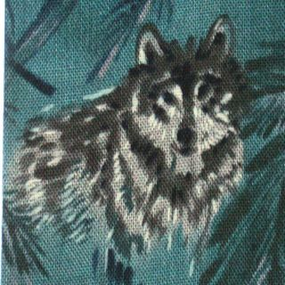 Woodland Wolves Wolf Wild Animals Nature Forest David Textiles