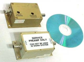 GE MRI TEST SIGNA SCANNER BODY WIDE BAND RF PREAMP PREAMPLIFIER