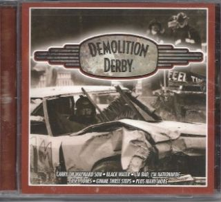 Demolition Derby Cars Racetrack Tailgate Fan Music CD