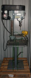 Delta 15 270 15 Drill Press 6 Speed with Wesco Long RAM Jack Platform