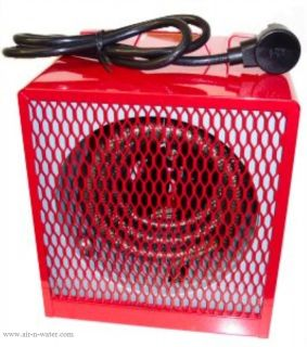 New Dayton Electric Portable Garage Shop Heater w 19 000 Btus Utility