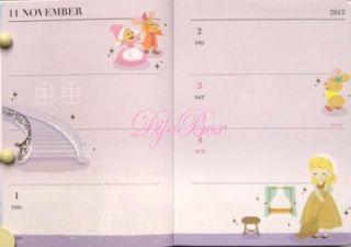 2013 Disney Fairy Tales Scheduler Planner Organizer : Bambi Pinocchio