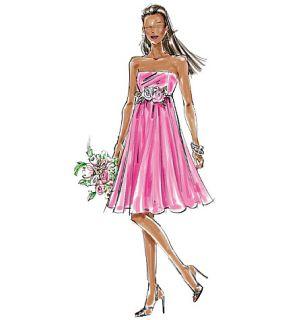 M5806 Patron de Couture Robes de Mariée Haut 42 48 MCL