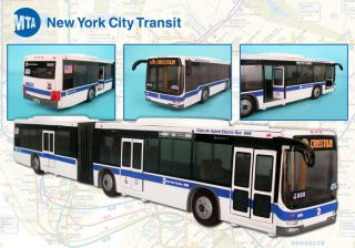 Daron MTA Articulated Bus New York City
