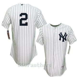 2012 Derek Jeter Authentic on Field New York Yankees Home Jersey Sz 40
