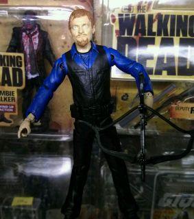 McFarlane Walking Dead Season 2 Daryl Dixon Figure Series 1 2