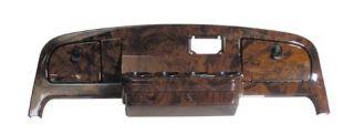 EZGO Golf Cart Dashboard w Locking Glove Box Woodgrain