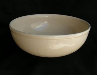 RARE Early Catalina Island Huge Pearly White Bowl California Pottery