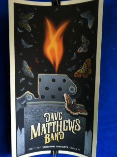 Dave Matthews Band Poster 6 27 2012 Susquehanna Bank Center NJ Night 2