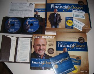 Dave Ramsey Financial Peace University Membership Kit CDs Envelope