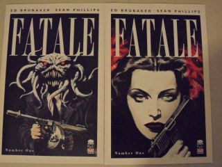 Covers A and B Image Ed Brubaker Sean Phillips Dave Stewart Hot