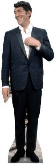 Brand new lifesize (60 tall) standup of DEAN MARTIN. Can be