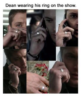 Supernatural Replica Ring Deans Ring USA Size 10 Stainless Steel Ring