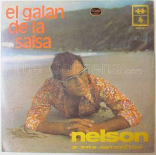 SUS ESTRELLAS GALAN SALSA GUAGUANCO DESCARGA LATIN JAZZ COLOMBIA LP