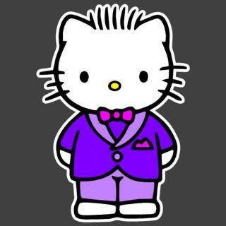 Hello Kitty Friend Dear Daniel Tux 8 x 12 Auto Car Truck Window