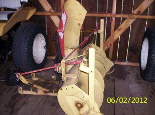 Allis Chalmers B Series Garden Tractor Snow Blower B 10 Big ten