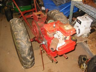 David Bradley 2 Wheel Tractor with Rebuilt B s Engine