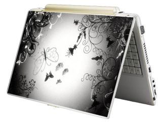 Bundle Monster Mini Netbook Laptop Notebook Skin Decal   Butterfly