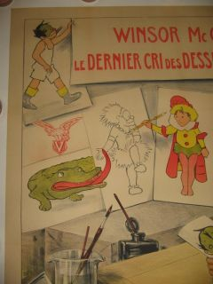 Little Nemo 1911 Winsor McCay Original French Cartoon Comic Book Movie