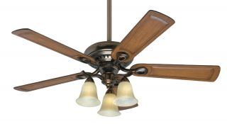 52 Whitten Bronze Patina 3 Speed Ceiling Fan 28792 CFM 5675