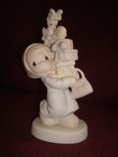 Precious Moments Figurine Bundles of Joy 1982 Jonathan David E 2374