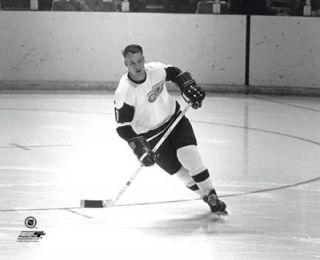 Gordie Howe Detroit Red Wings Classic 1961 NHL Hockey Poster Print