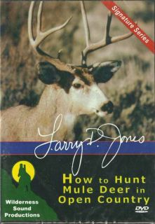 How to HUNT MULE DEER IN OPEN COUNTRY Hunting DVD