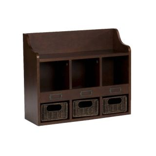 Tuscan Traditional Entry Wall Mount Storage Shelf